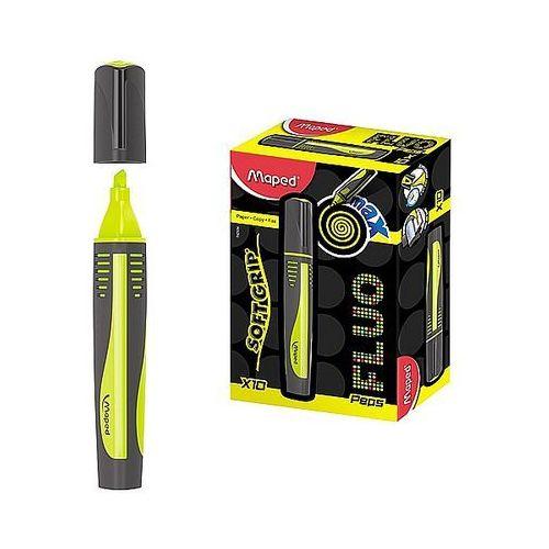 Zakreślacz fluo peps max żółty 742934 marki Maped