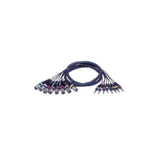 Kabel Audio 8 x XLR męskie – 8 x Jack stereo - sprawdź w wybranym sklepie