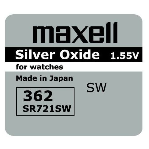 Maxell Bateria srebrowa mini 362 / 361 / sr 721 sw / g11