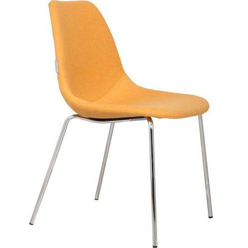 krzesło fifteen up chromowane/żółte 1100213 marki Zuiver