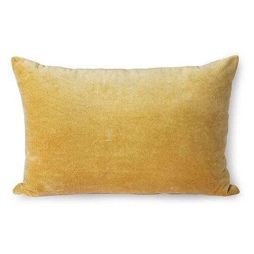 Hkliving poduszka velvet złota (40x60) tku2112