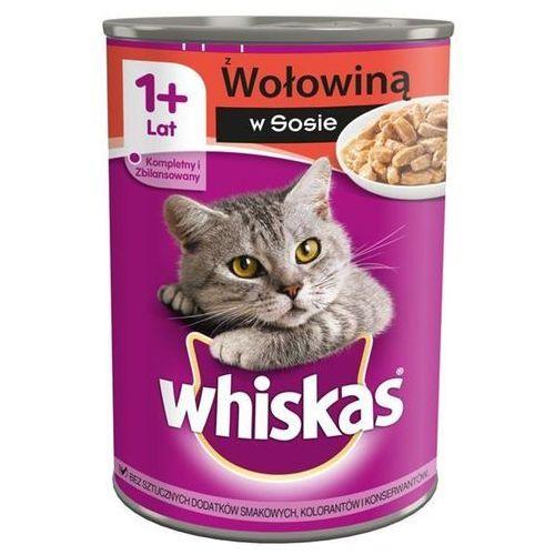 wołowina puszka 400g marki Whiskas