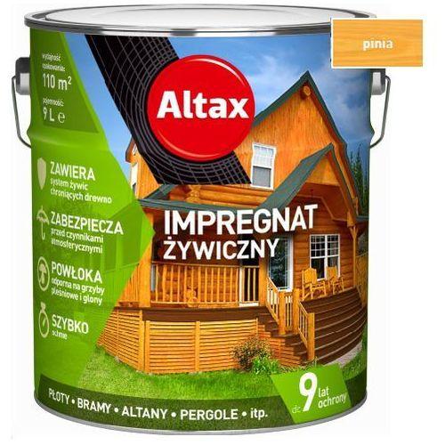 Altax - impregnat żywiczny, pinia, 9l