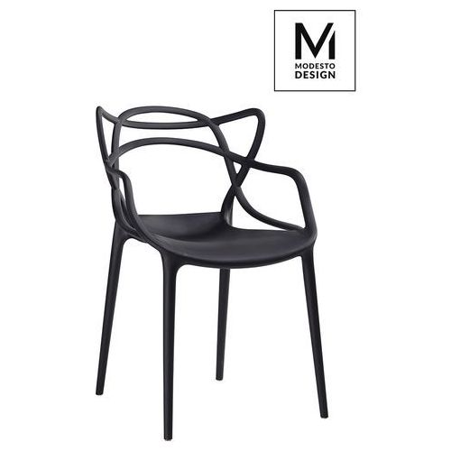 Modesto design Modesto krzesło hilo czarne - polipropylen (5900168801608)