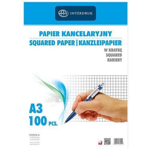 Papier kancelaryjny A3/100K kratka (5902277170545)