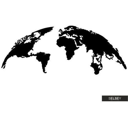 Selsey dekoracja ścienna algieba 150x59 cm czarna (5903025399935)
