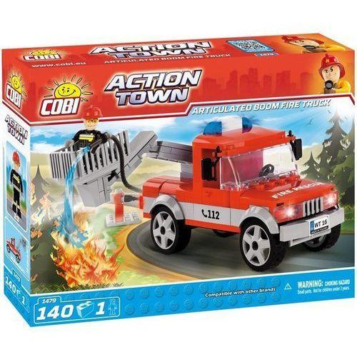 Cobi Klocki ACTION TOWN 140 elementów Ciężarówka straży pożarnej