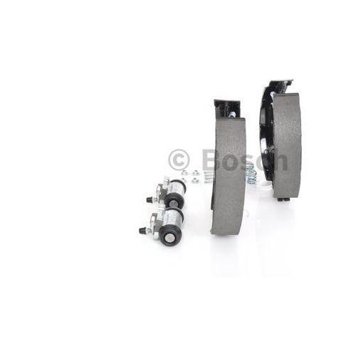 BOSCH KIT SUPERPRO, zestaw szczek hamulcowych + cylinderek hamulca koła; zamontowany; z tyłu, 0 204 114 156, BOSCH 0204114156