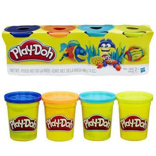 Hasbro Playdoh 4pak bold color