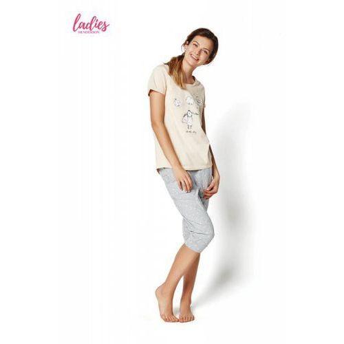 Piżama damska model rakel 35255-03x pastel pink, Henderson