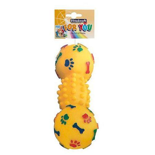 Vitakraft for you - zabawka dla psa hantel vinyl 19cm (4008239396594)