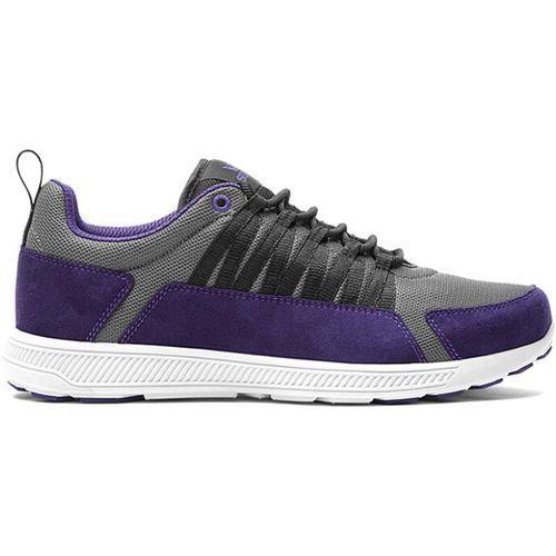 Buty  - lowt owen charcoal / purple / black- wht (chr), Supra