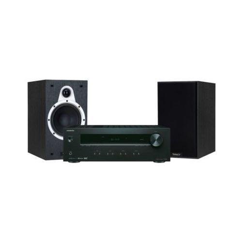 Zestaw stereo tx-8220b + tannoy eclipse one czarny darmowy transport marki Onkyo