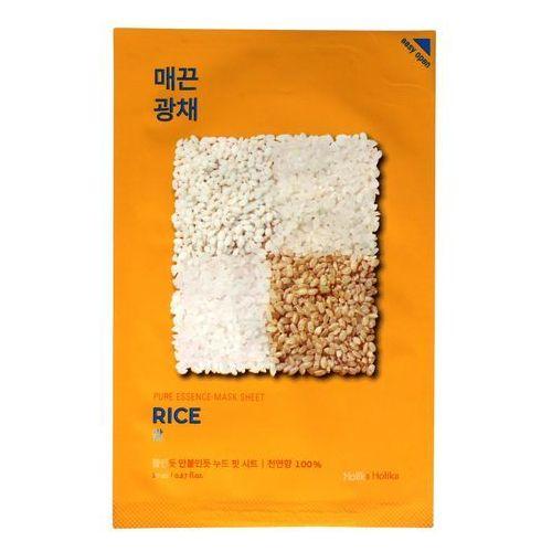 Holika Holika, Pure Essence Mask Sheet Rice. Maska do twarzy w płacie - HOLIKA HOLIKA, HOLMA555