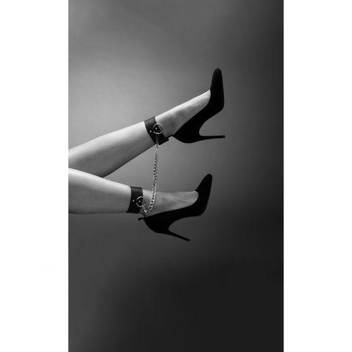 Bijoux indiscrets Kajdanki na nogi - maze ankle & knee cuffs brown (8436562011109)