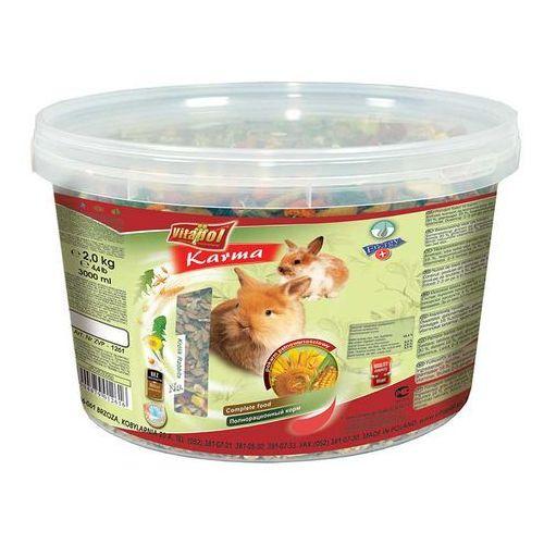Vitapol  pokarm dla królika 25 kg- rób zakupy i zbieraj punkty payback - darmowa wysyłka od 99 zł (5904479012913)