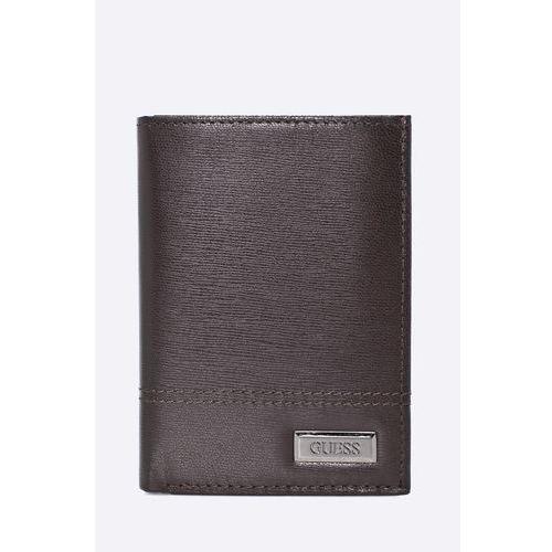 Guess jeans - portfel skórzany morgan