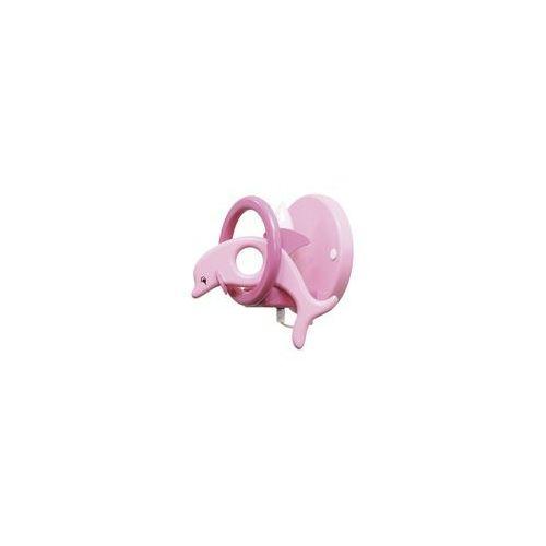 Kinkiet dziecięcy DELFIN filetowy/ różowy 1xE14/40W (5908218910515)