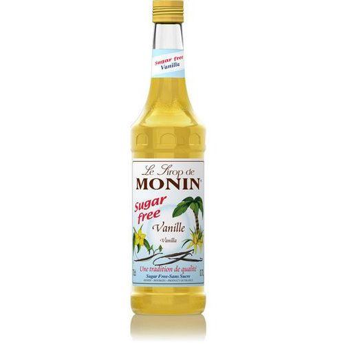 Syrop smakowy Monin Vanilla Sugar Free, wanilia bez dodatku cukru 0,7