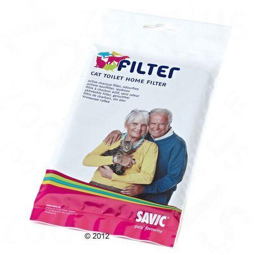 Savic nestor corner narożna kuweta dla kota - wymienny filtr węglowy - 1 szt.