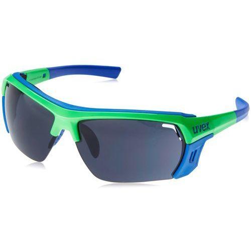 sportstyle 303 ultra okulary rowerowe zielony/niebieski okulary marki Uvex