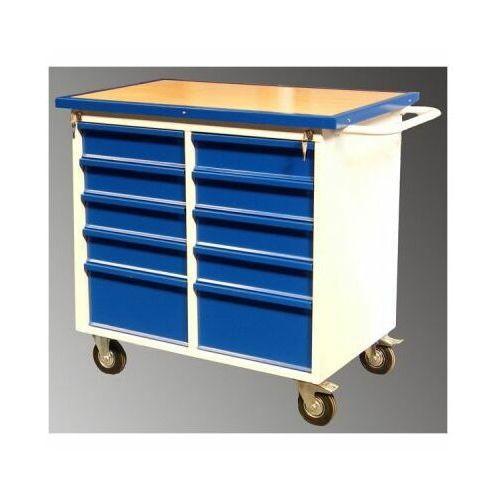Wózek szafka warsztatowa szwn 252 na narzędzia na kółkach hamulec marki Malow