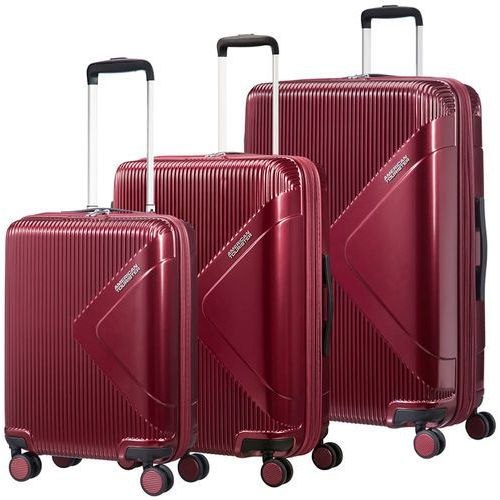 American tourister modern dream zestaw walizek / komplet / set / bordowy - wine red