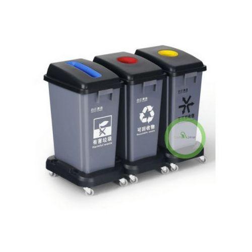 Ceg Kosz 3-komorowy do segregacji odpadów
