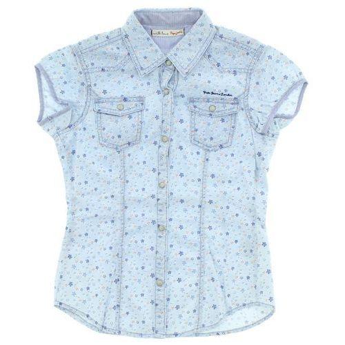 Pepe Jeans Koszula dziecięca Niebieski 12 lat, kolor niebieski