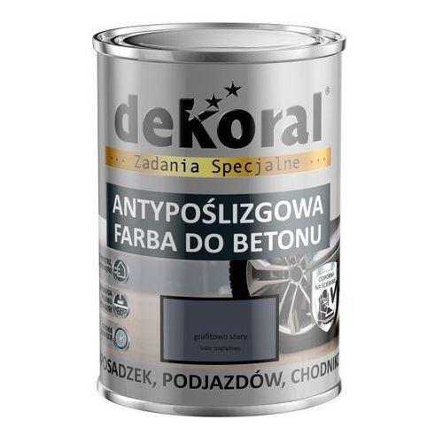 Emalia do podłóg Dekoral Akrylit B grafitowo-szara 0,75 l, 380792