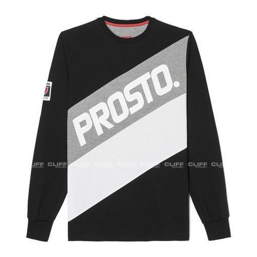 Koszulka z długim rękawem  calf cant black marki Prosto