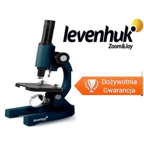 Levenhuk Mikroskop 2s ng - powiększenie 200x