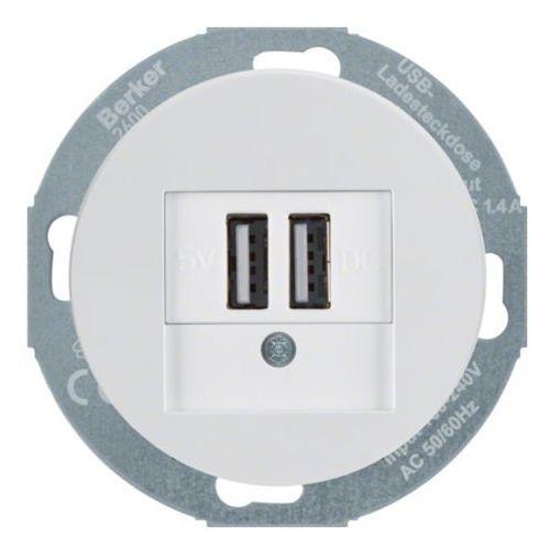 Berker R.CLASSIC GNIAZDO USB ŁADOWANIA, 26002089RC