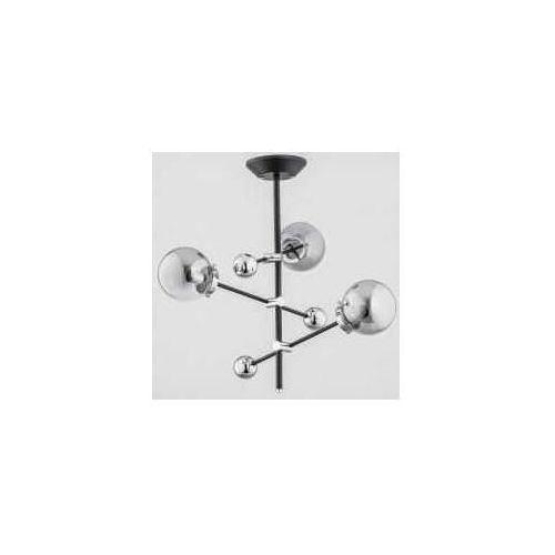 Alfa Sner 2609340 plafon lampa sufitowa 3x40W E14 srebrny (5900458260931)