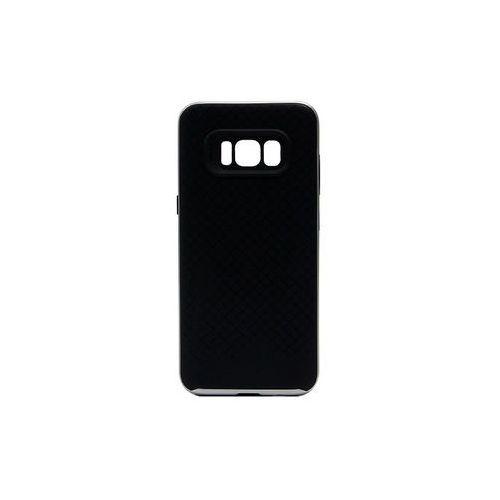 Samsung Galaxy S8 - etui na telefon Ipaky - Srebrny, kolor szary