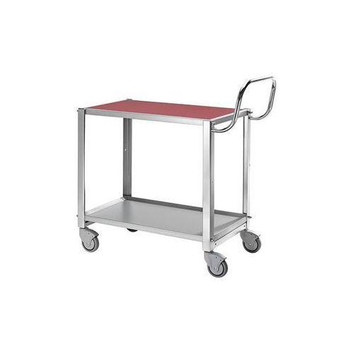 Kongamek Wózek stołowy, nośność 100 kg, dł. x szer. x wys. 765x450x740 mm, ogumienie pełn