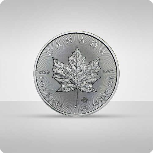 Kanadyjski Liść Klonowy 1 uncja srebra - 15 dni roboczych
