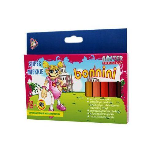 Noster Kredki 12kol bonnini mini (5907078125510)