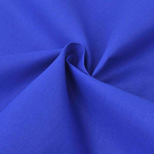 Vidaxl  materiał bawełniany 1,45x20 m niebieski, kategoria: papier i tkaniny do decoupage