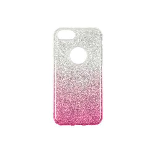 Apple iphone 7 - etui na telefon forcell shining - różowe ombre marki Forcell shining case