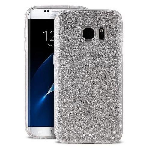 Etui PURO Glitter Shine Cover do Samsung Galaxy S8 Plus Srebrny (8033830185052)