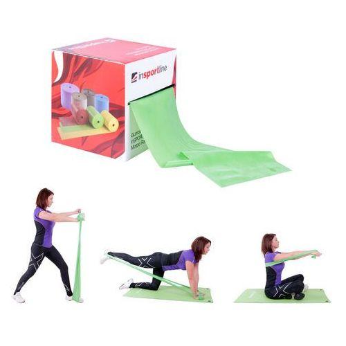 Taśma treningowa do ćwiczeń fitness inSPORTline 45 Light