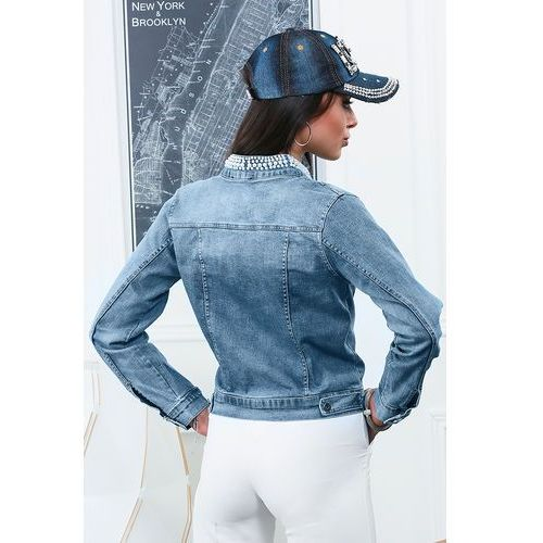 Damska kurtka jeansowa AMBER