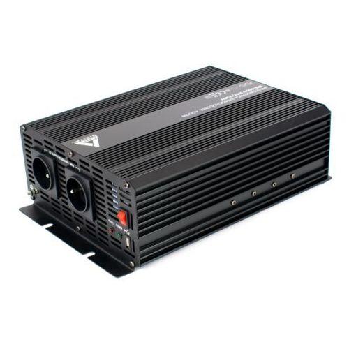 Samochodowa przetwornica napięcia 24 vdc / 230 vac ips-4000 4000w marki Azo digital
