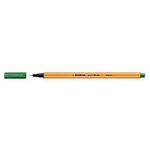 Cienkopis point zielony 10 sztuk marki Stabilo