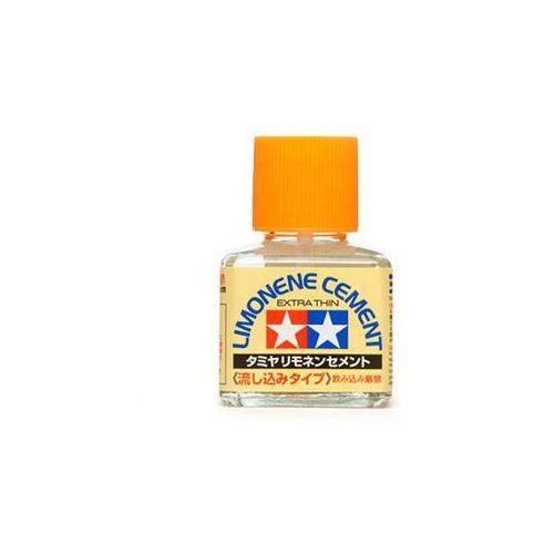 Klej z pędzelkiem (Limonene Cement Extra) / 40ml Tamiya 87134 (4950344871346)