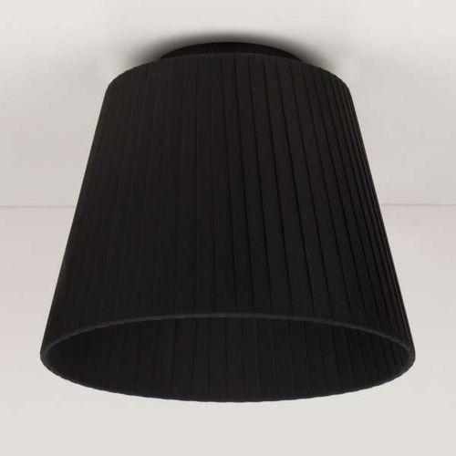 Plafon lampa sufitowa kami elementary s cp 1/c/black abażurowa oprawa natynkowa czarna marki Sotto luce