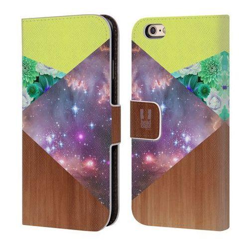 Etui portfel na telefon - trend mix galaxy geometric wood marki Head case