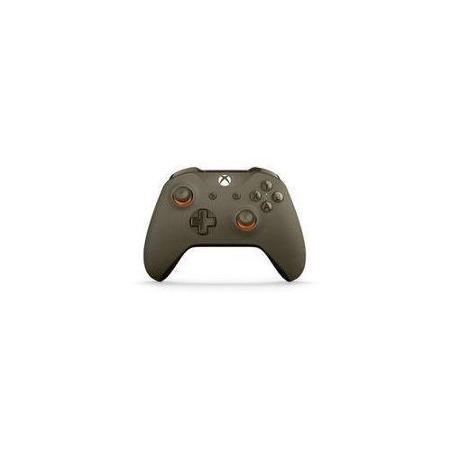 Gamepad Microsoft Xbox One S Wireless - wojskowa zieleń / pomarańcz (WL3-00036)