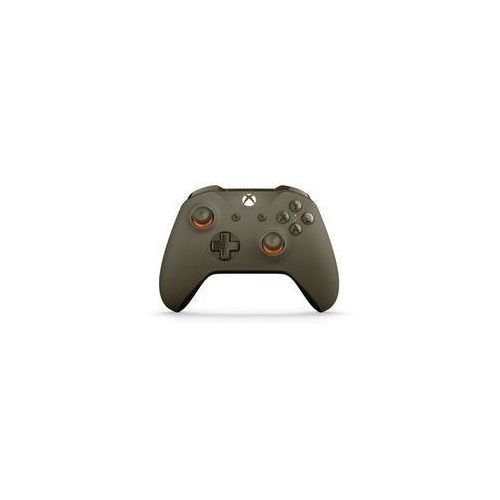 Microsoft Gamepad  xbox one s wireless - wojskowa zieleń / pomarańcz (wl3-00036)